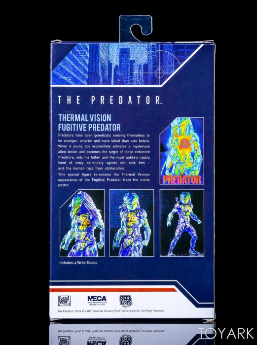 Thermal Vision Predator Packaging