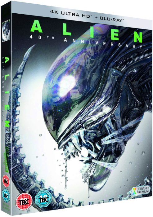 Alien 40th Anniversary 4K Ultra HD Lands in April 2019