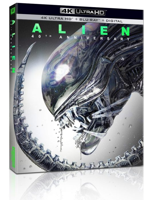 Alien: 40th Anniversary Edition 4K Blu-Ray Out Now (Review Roundup)