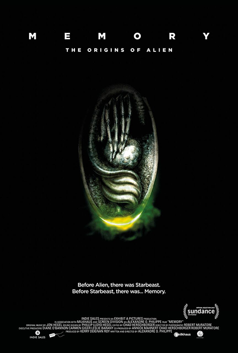 Alexandre O. Philippe (Director of Memory: The Origins of Alien) Interview