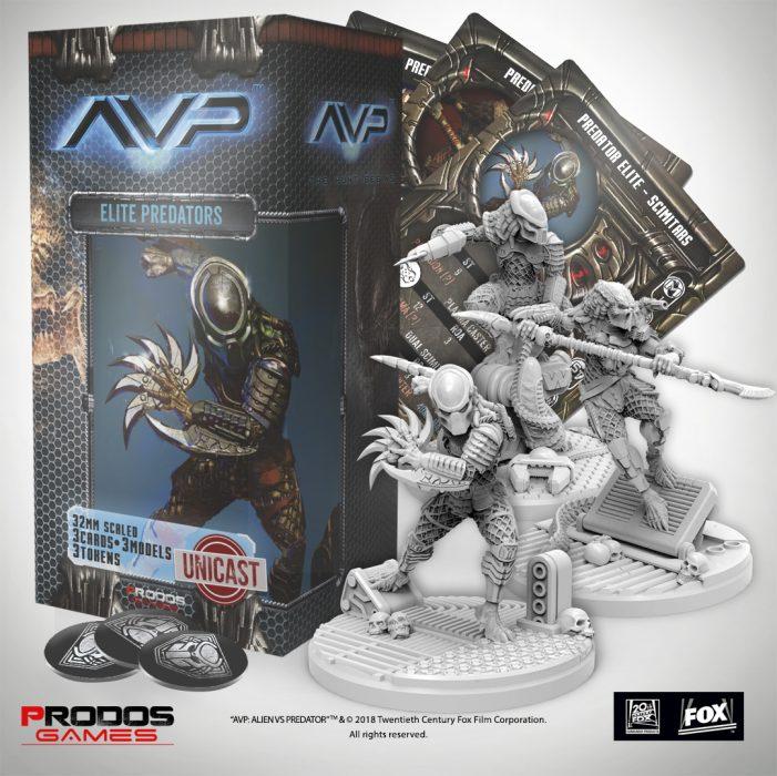 sklep - elite predators + pudełko