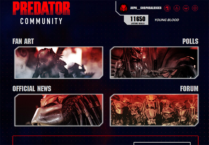 The Official Predator Fan Community Has Opened!