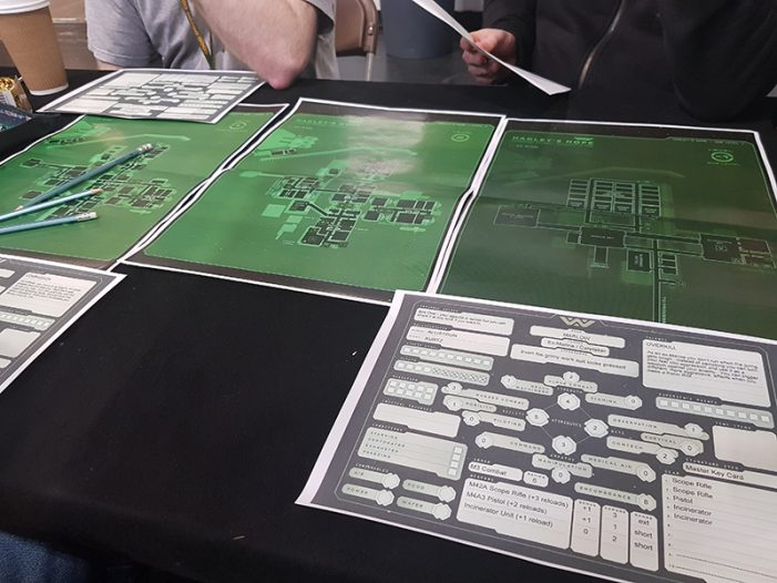 Hope's Last Stand - UK Games Expo Preview of Alien: The Roleplaying Game