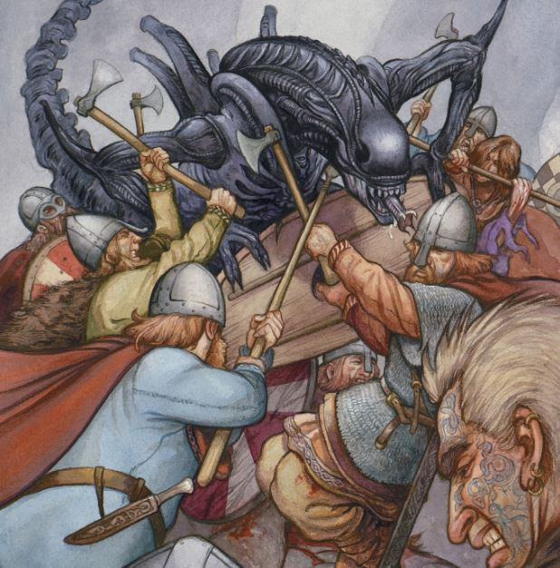 Aliens Goes Medieval In Alien: Phalanx Synopsis!