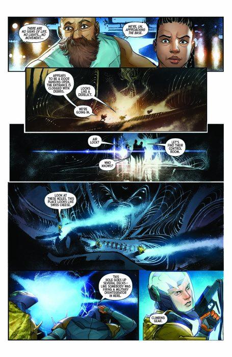 Dark Horse Announces New Comic Series, Alien: The Original Screenplay!