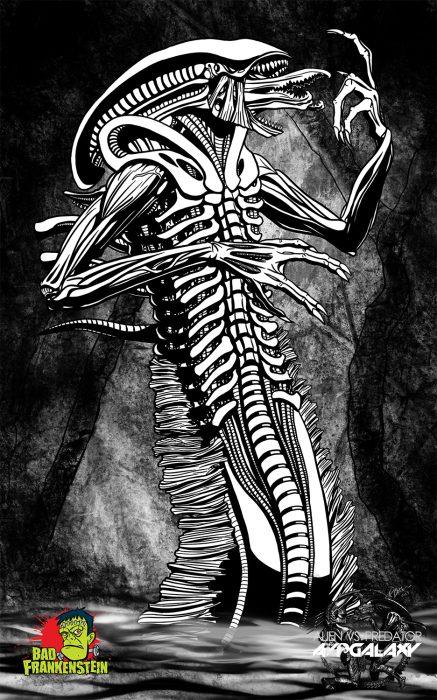 The Lion-Worm Alien Hybrid