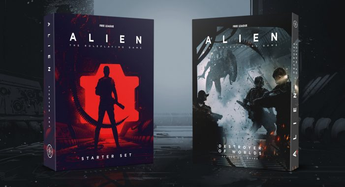 Free League Announces New Starter Set & Cinematic Campaign for Alien: The Roleplaying Game!