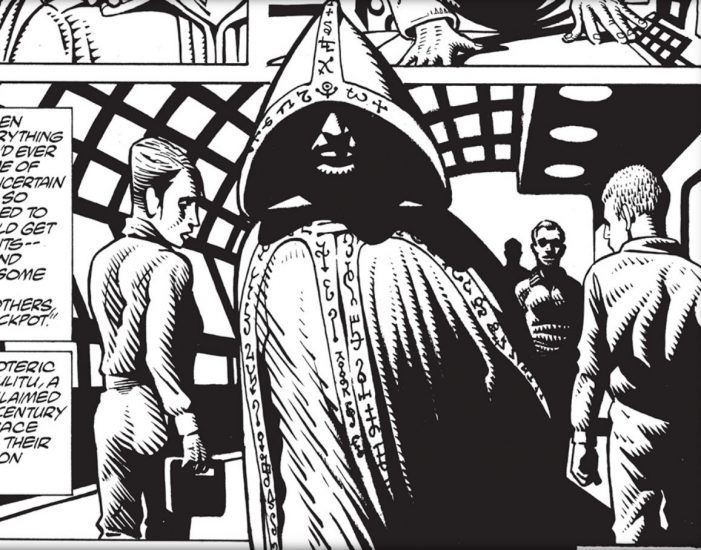 The Esoteric Brotherhood of Tulitu - Dark Horse Comics' Love Letter to HP Lovecraft (Aliens: Elder Gods)