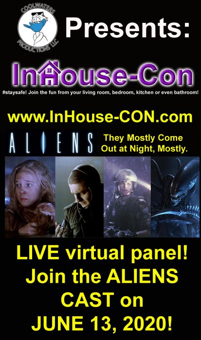 Aliens Reunion Coming To In-House Con!