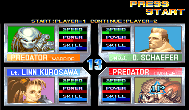 653358-alien-vs-predator-arcade-screenshot-select-character