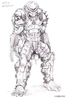 Predator Concrete Jungle Concept Art