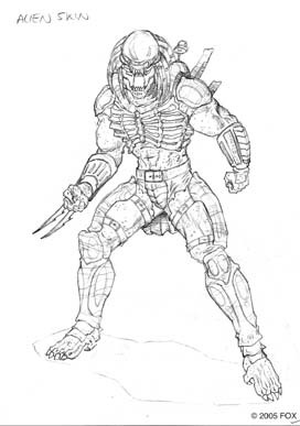 Predator Concrete Jungle Concept Art