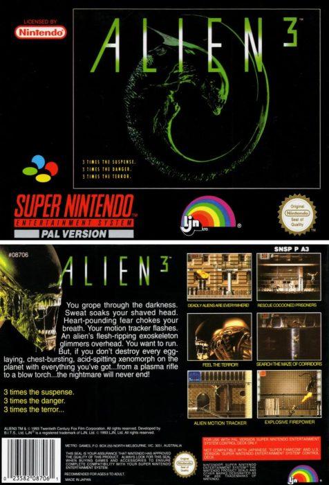 Alien 3 (Multi Platforms)