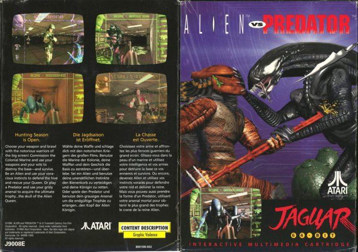Alien vs Predator (Atari Jaguar)