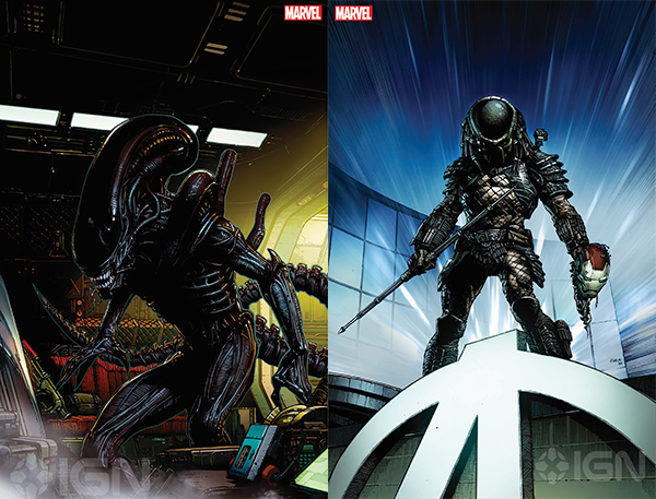 """""""You've Been In My Life So Long, I Can't Remember Anything Else,"""" Alien & Predator Comics Move From Dark Horse to Marvel! - AvP Galaxy Podcast #112"""