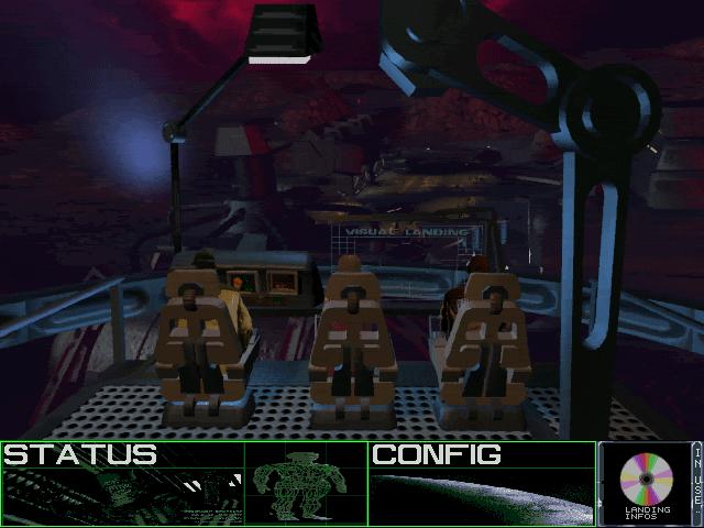 96722-aliens-a-comic-book-adventure-dos-screenshot-landing-sequence