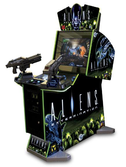 Aliens Extermination (Arcade)