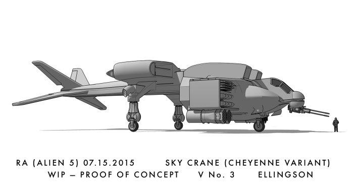 Ty Ellingson, Alien 5 Artist, Talks Existenceof Blomkamp's Alien 5 Script