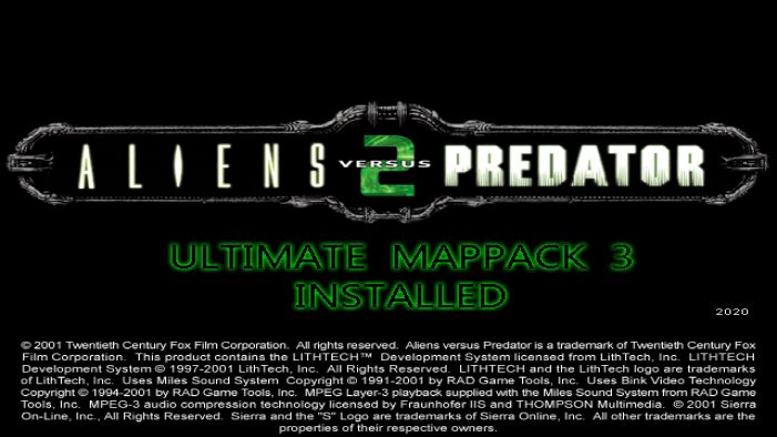 Ultimate Map Pack 3 for Aliens vs. Predator 2 Released!