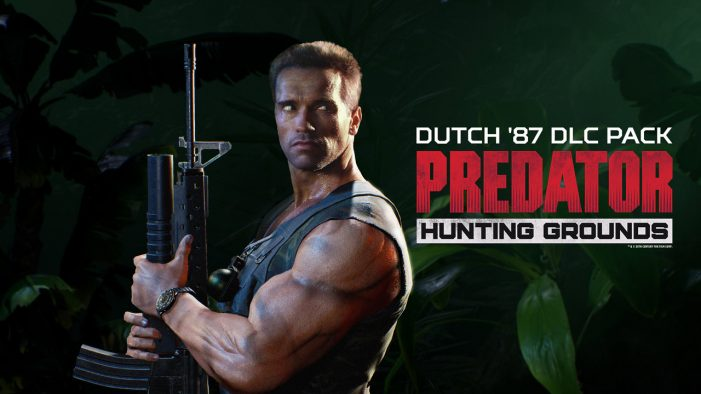 Dutch '87 Announced As Next Paid DLC For Predator: Hunting Grounds!