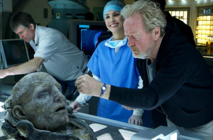 'That's In Process' - Sir Ridley Scott Confirms He Is Still Developing Next Alien Prequel