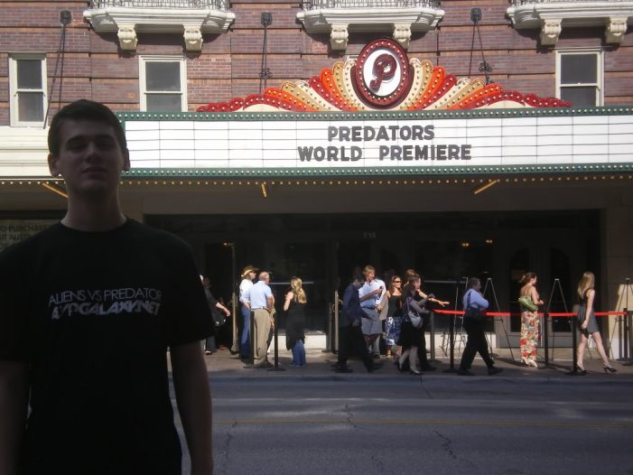 Predators World Premiere Report