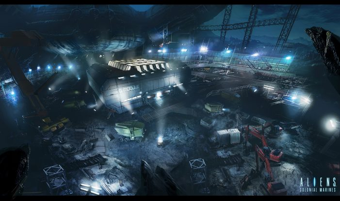 More Aliens: Colonial Marines Concept Art