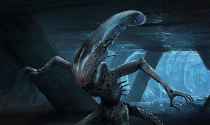 Khang Le's Alien: Covenant Concept Art from 2014!