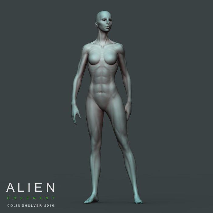 Colin Shulver Shares Neomorph & Xenomorph Concept Art from Alien: Covenant