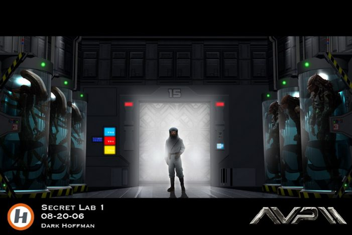 Unseen AvP Requiem Concept Art