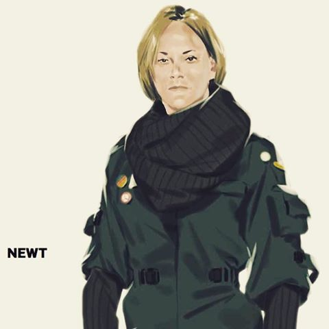 Blomkamp Shares Newt Concept Art from Alien 5!