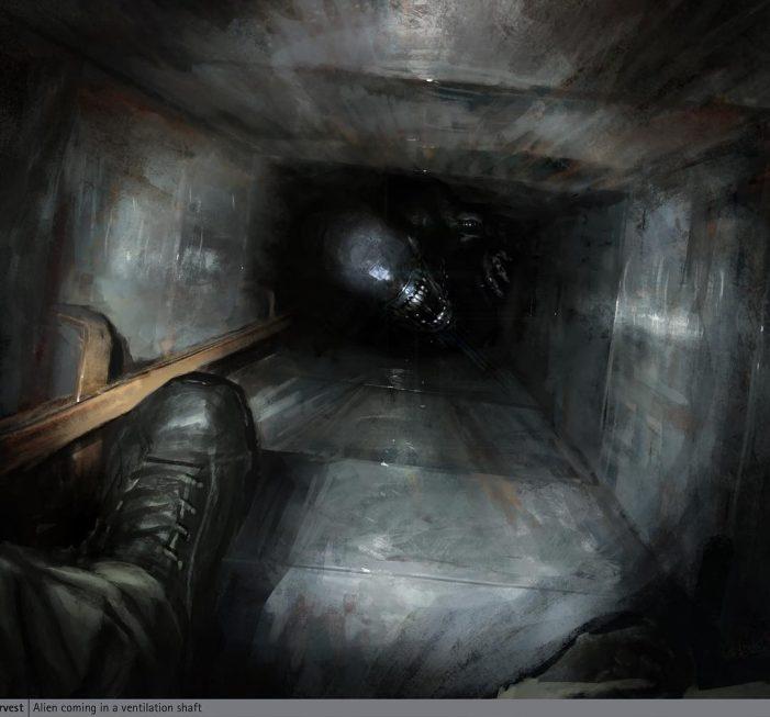 Neill Blomkamp Shares New Alien 5 Concept Art