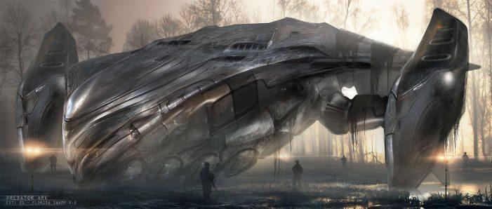 The Predator Ship Design Concept Artwork Released!