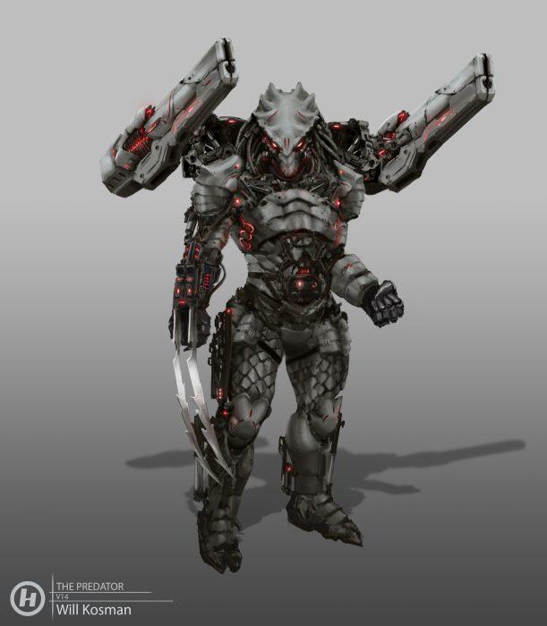 The Predator Killer Concept Art Now Online!