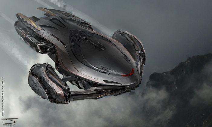Shane Baxley Shares Upgrade Predator & Ship Concept Art!