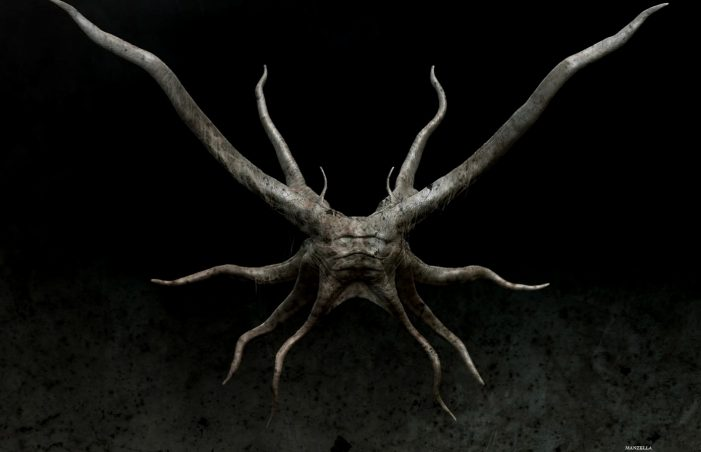 Prometheus Creature Concept Art
