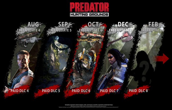 Predator: Hunting Grounds Patch 2.11 & Holiday DLC Released