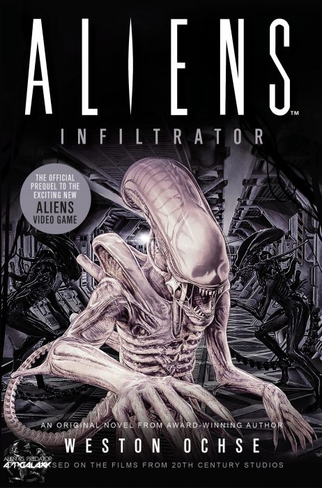 [Exclusive] Aliens: Infiltrator, Prequel Novel To Cold Iron Studios Game, Cover Art Reveal!