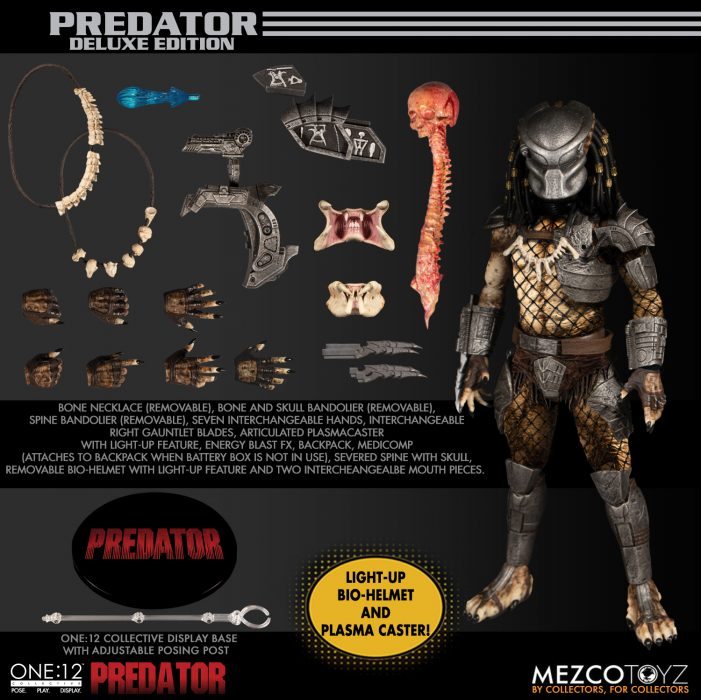 Mezco One:12 Collective Predator Available for Pre-Order