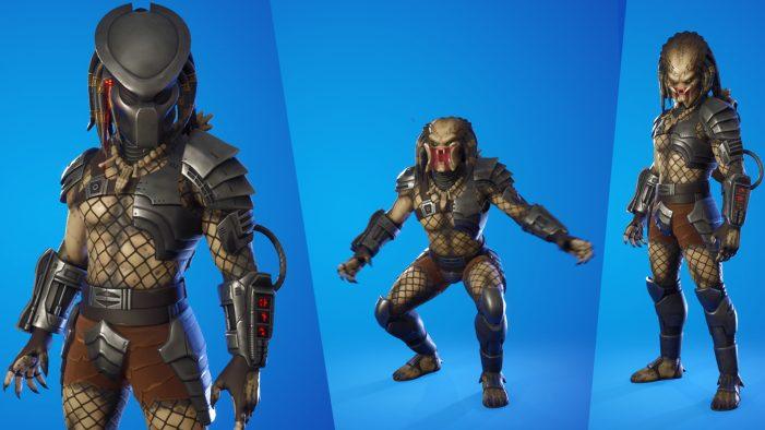 Recurring Guest Star Predator Lands in Fortnite