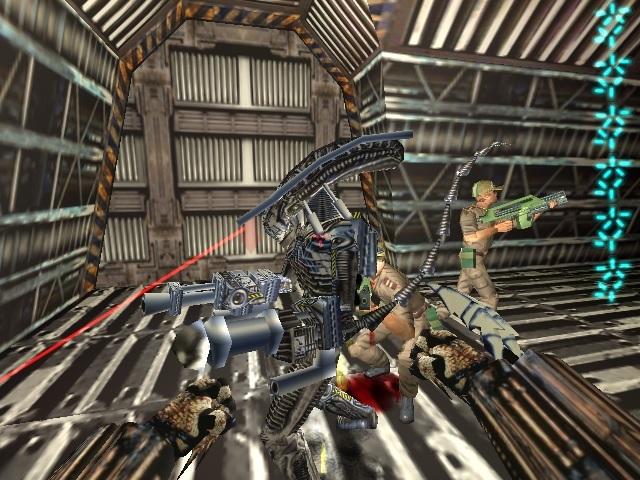 Livermore Evanston's Augmented Alien Warriors