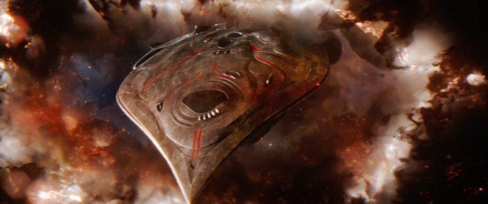The Predator Spaceships