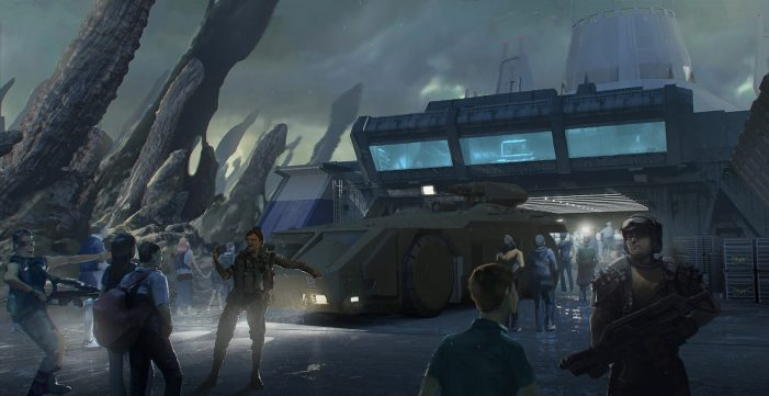 Cancelled Dubai AVP Dark Ride and Land Revealed with Concept Art!