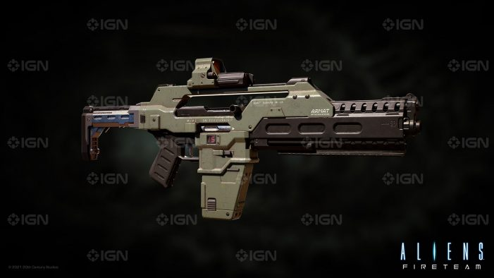 IGN Show Off Aliens: Fireteam's Colonial Marine Armoury!