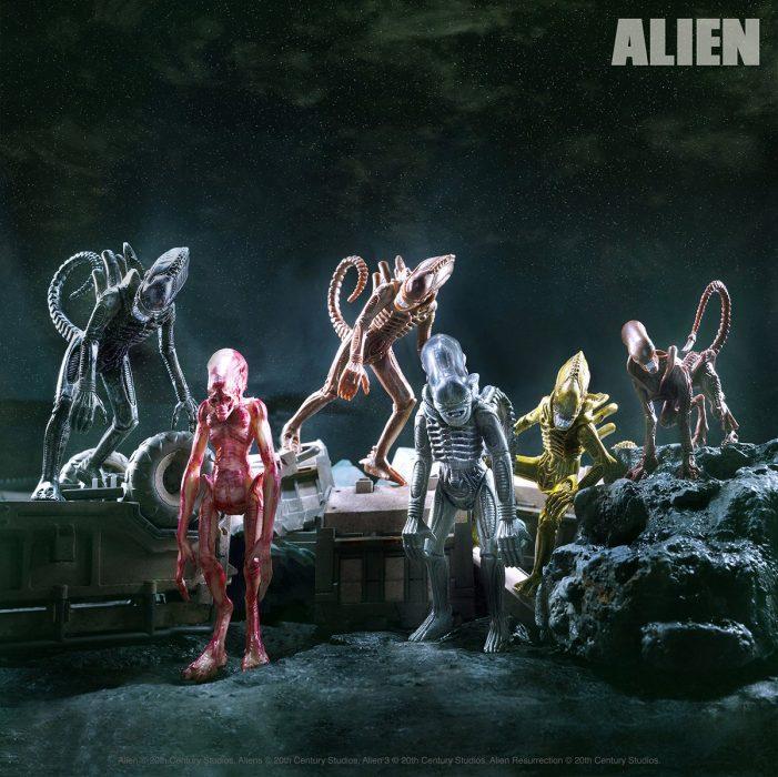 Super7 Announces New Wave of Alien Figures!