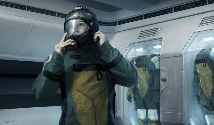 Geoffroy Thoorens Shares More Alien 5 Concept Art