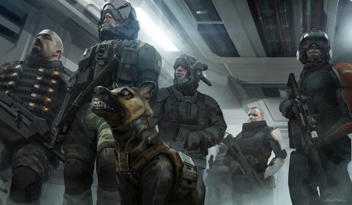 More Previously Unseen Concept Art For Blomkamp's Alien 5!