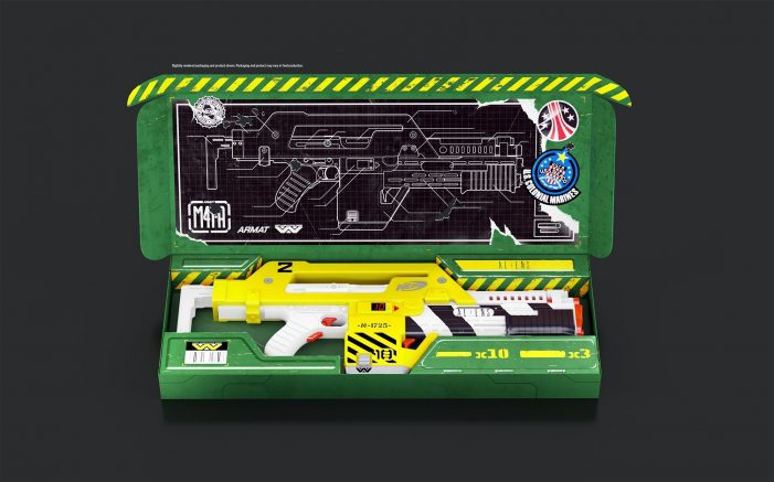 Hasbro To Release Nerf M41A Pulse Rifle!