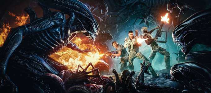 <h2>Me and My Squad of Ultimate Baddasses, Reviewing Aliens: Fireteam Elite – AvP Galaxy Podcast #134</h2><span class='featuredexcerpt'>We have just uploaded the134th episode of the Alien vs. Predator Galaxy Podcast (right-click and save as to download)! Corporal Hicks, RidgeTop, VoodooMagic and Xenomorphine are back […]</span>
